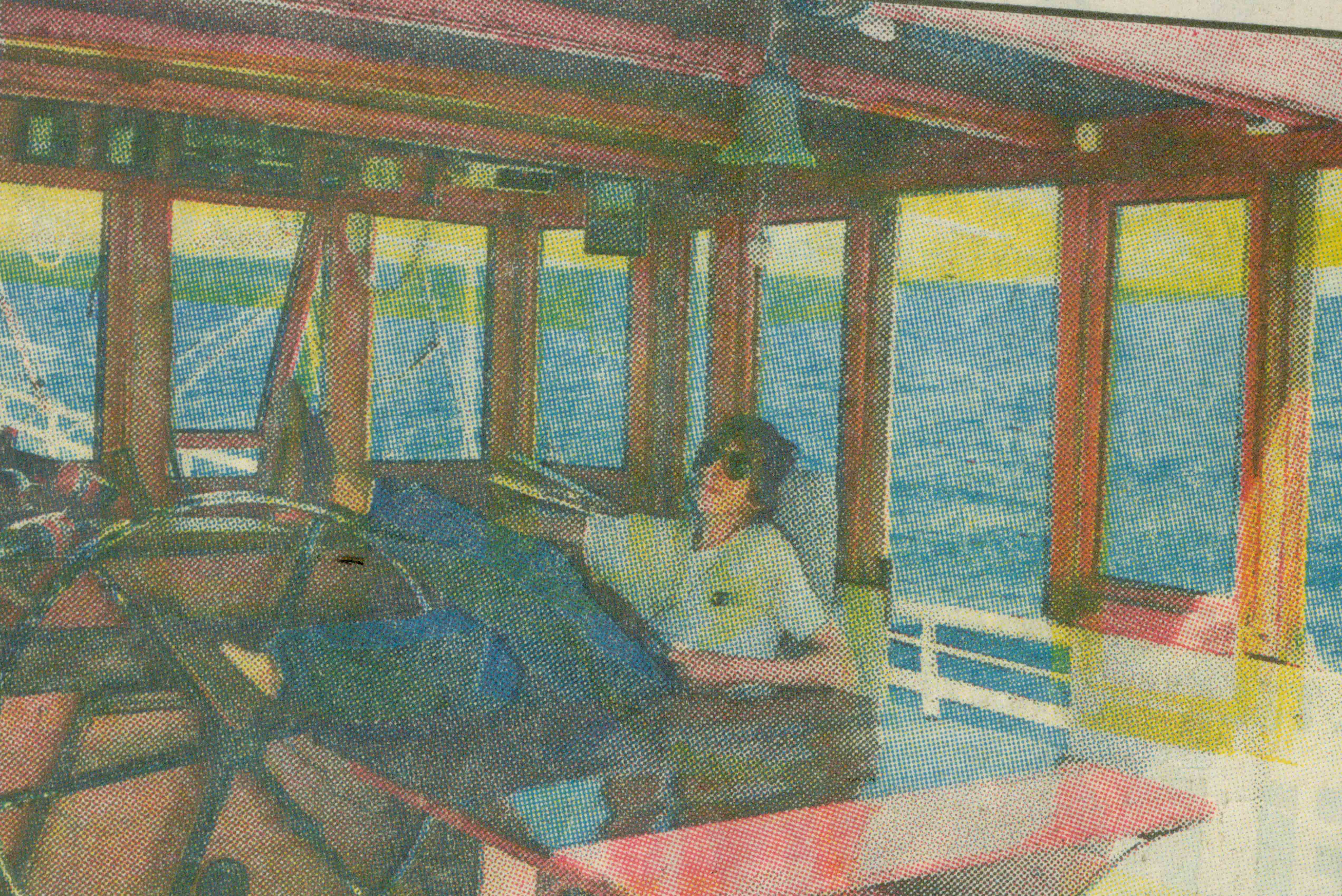 Atlantsegling Mikael 1988